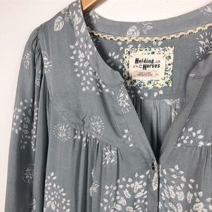 Anthropologie Holding Horses Tunic